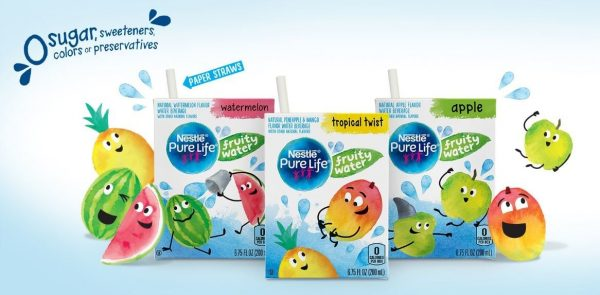 Nestlé Pure Life Purified Water Launches Fruity Water for Kids