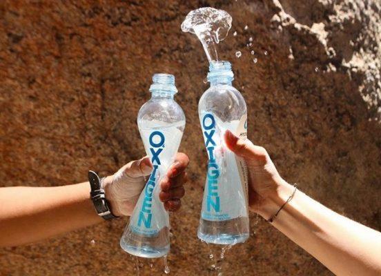 Oxigen Oxygenated Water