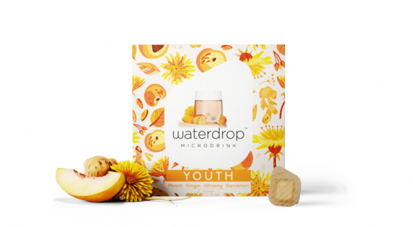 Waterdrop YOUTH Microdrink – Fresh Functional Flavor from a Cube