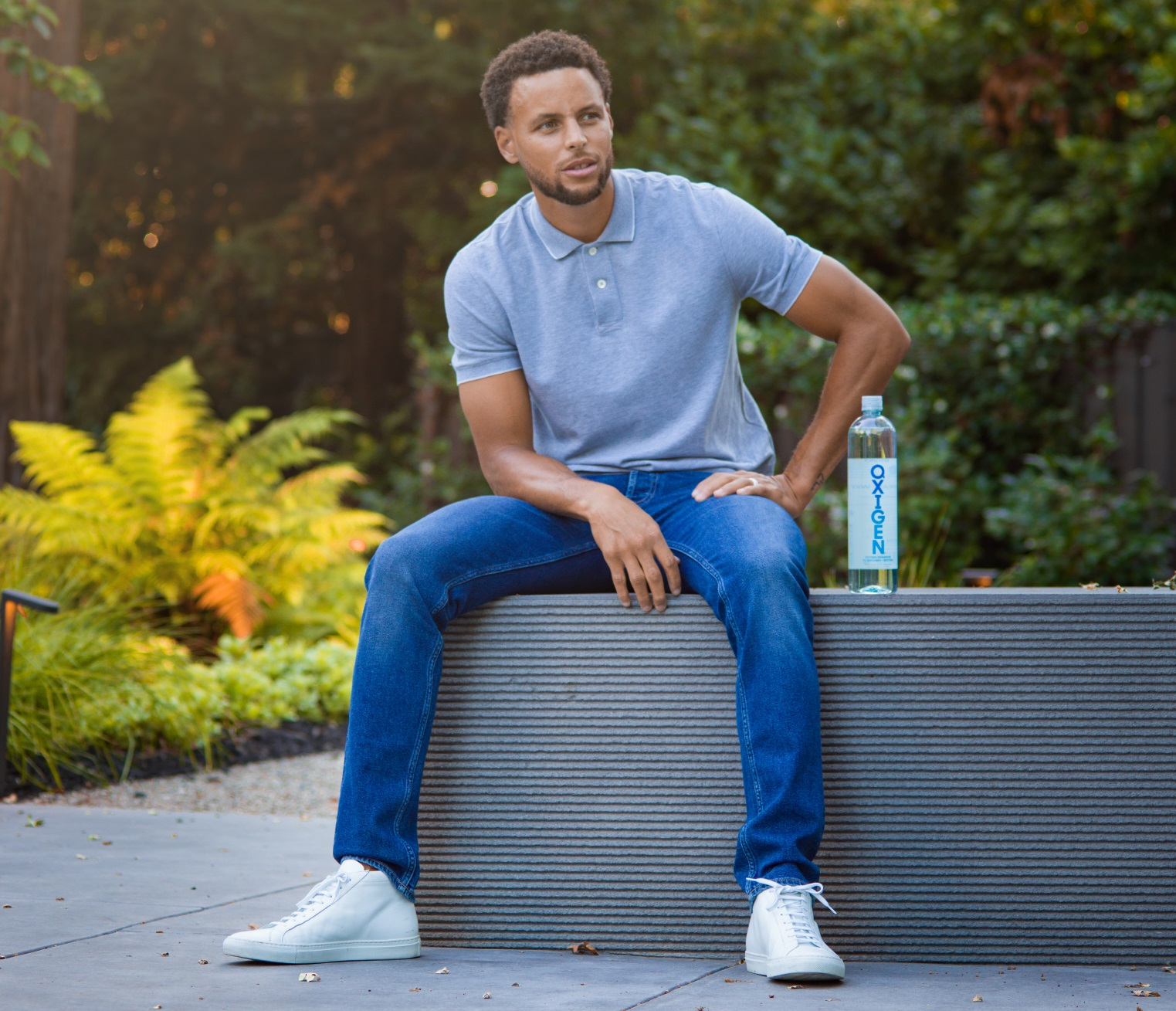 Oxigen Water Announces Stephen Curry As New Owner