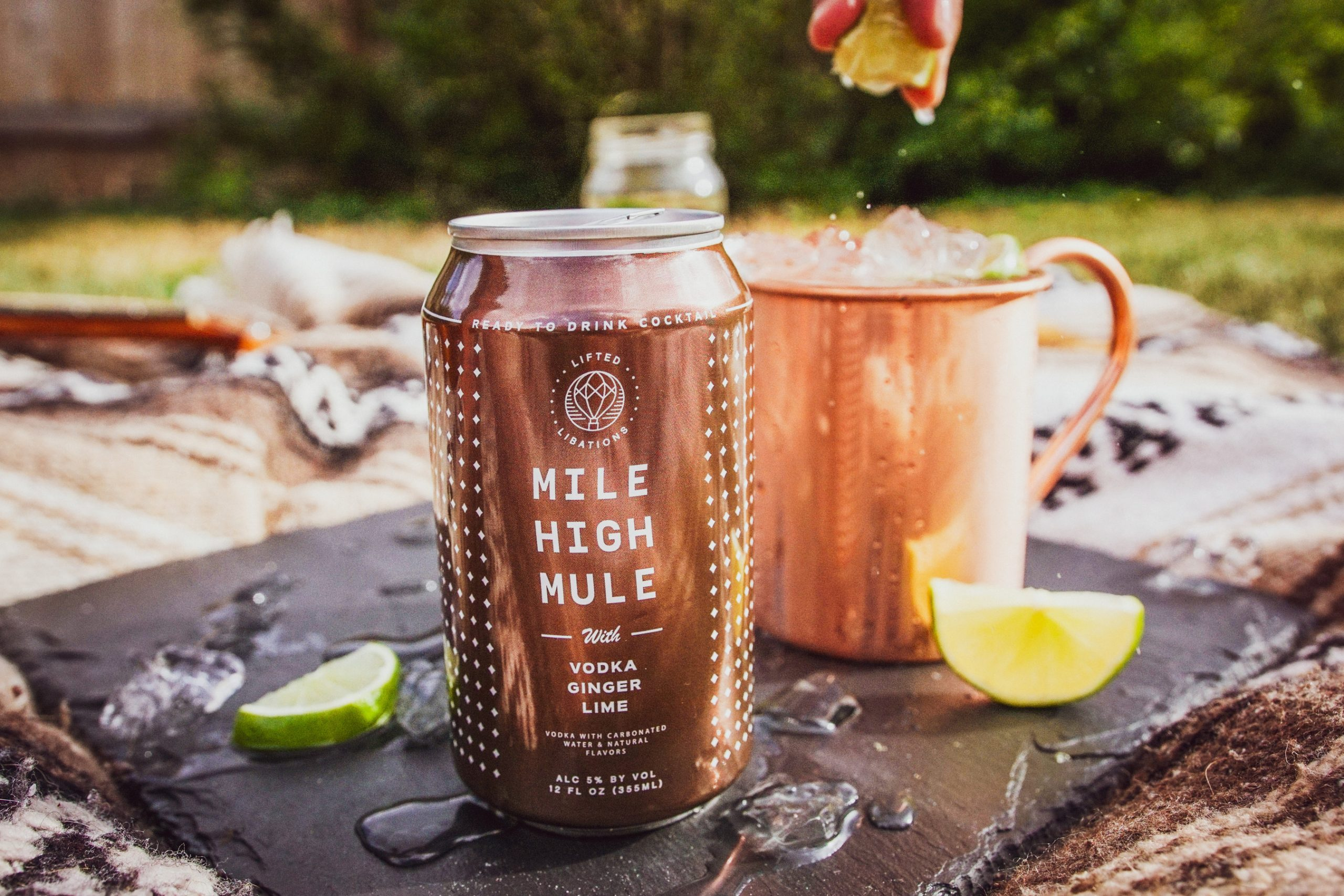 Rocky Mountain Soda Debuts Ready to Drink Canned Cocktails