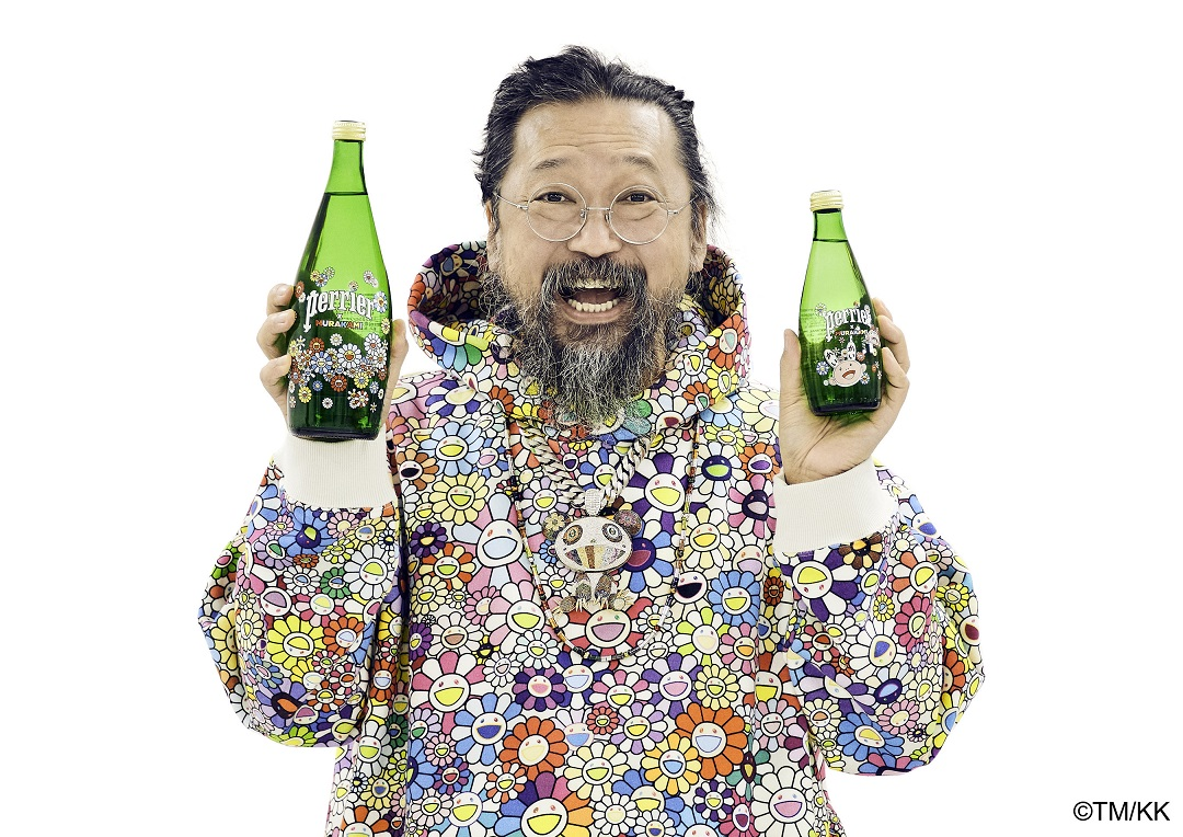 PERRIER Announces Collaboration with Takashi Murakami