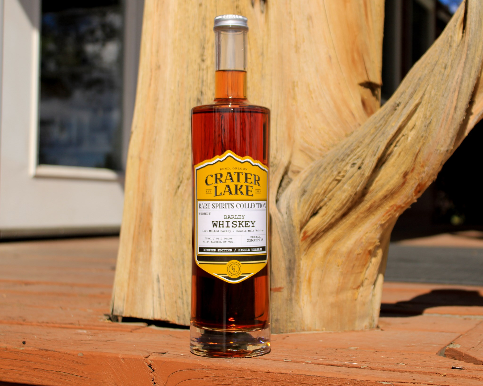 Crater Lake Rare Spirits Collection Barley Whiskey