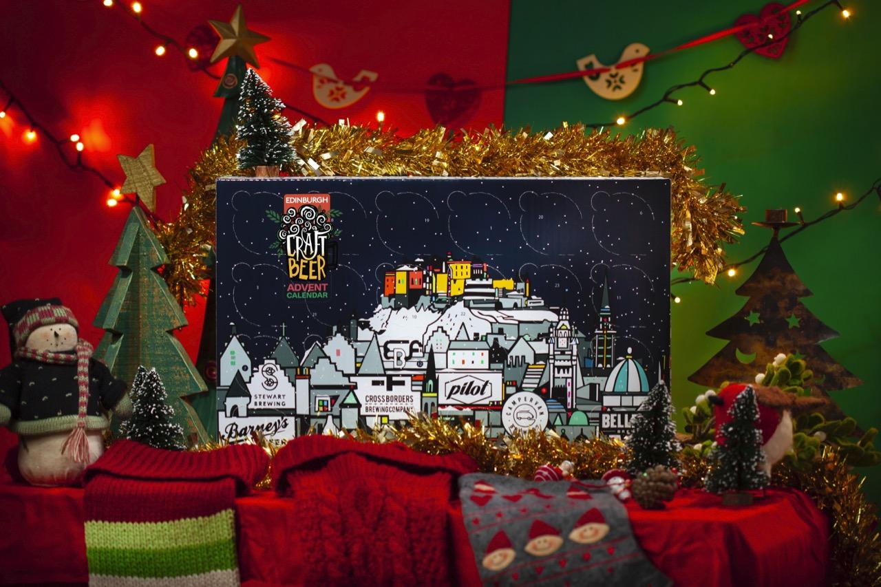 Edinburgh Beer Presents Christmas Advert Calendar