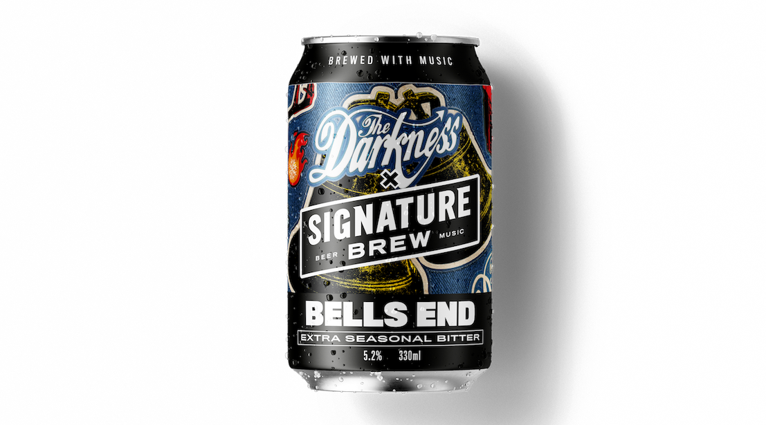 The Collaboration Between Signature Brew and The Darkness