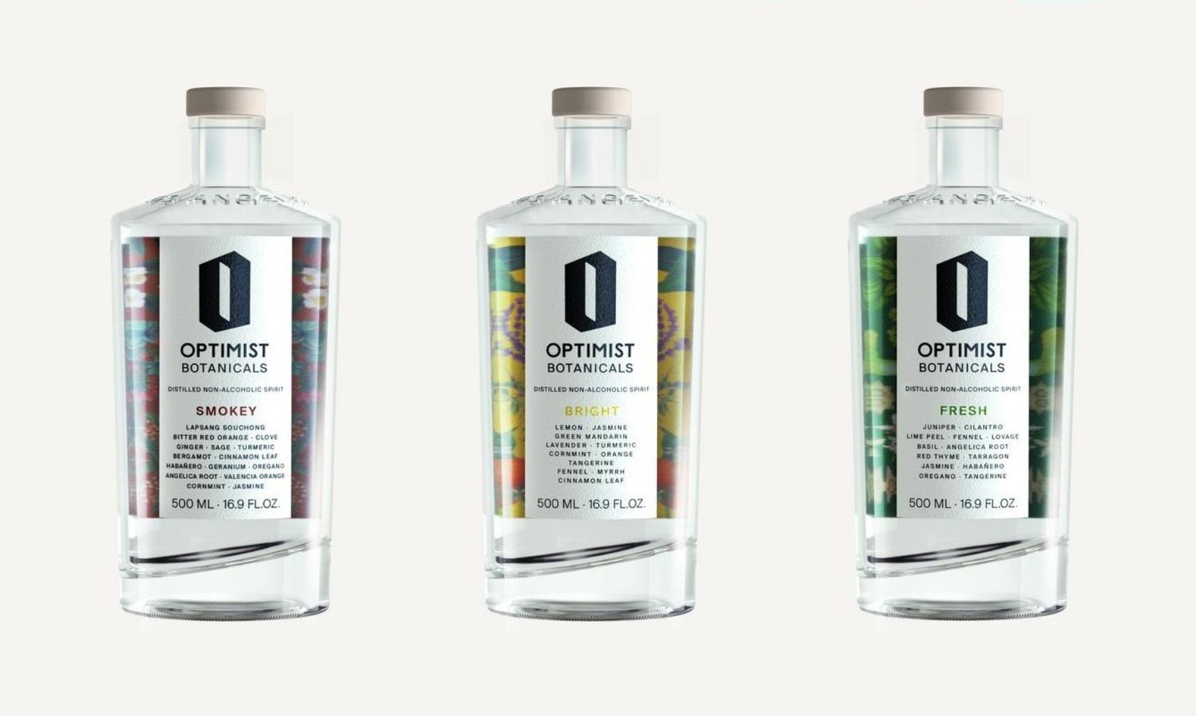 Introducing: Optimist Drinks Non-Alcoholic Clean Botanical Spirits