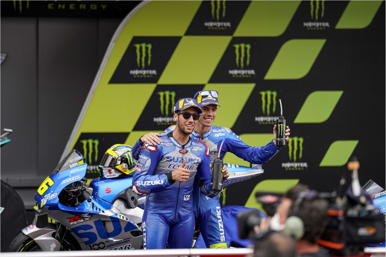 Monster Energy Gives Team Suzuki Ecstar A Boost In 2021