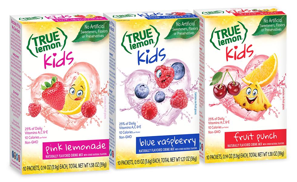 True Citrus Launches True Lemon Kids Clean-Label Drink Mixes